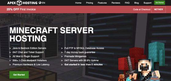 Apex Minecraft Hosting Server