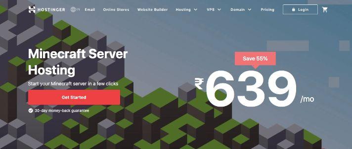 Hostinger minecraft server hosting
