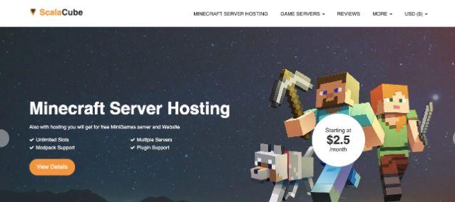 Scalacube hosting
