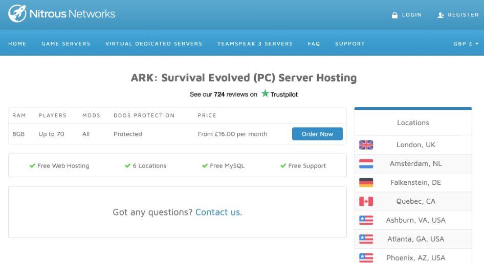 Ark Server 10 Slots